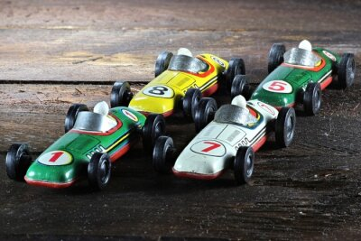 Canvastavlor Race Car 01