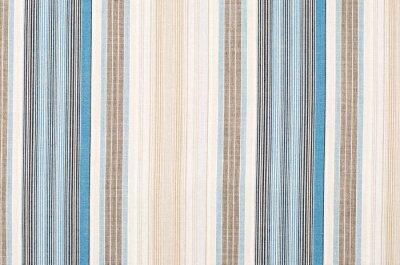 Canvastavlor Randig blått och brunt textila mönster som en bakgrund. Närbild på olika vertikala ränder material konsistens tyg.