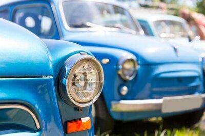 Canvastavlor retro bilar