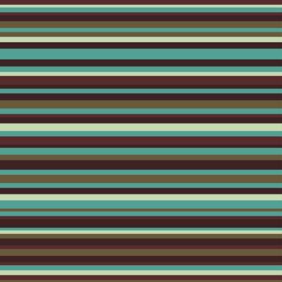 Canvastavlor Retro seamless randmönster vintagefärger bakgrund