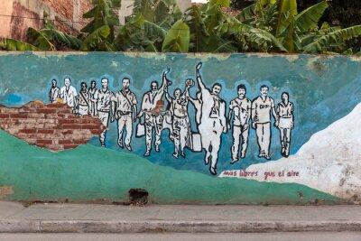 Canvastavlor Revolution, Kuba