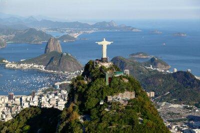 Canvastavlor Rio de Janeiro - Corcovado