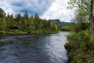 Canvastavlor River i Norge