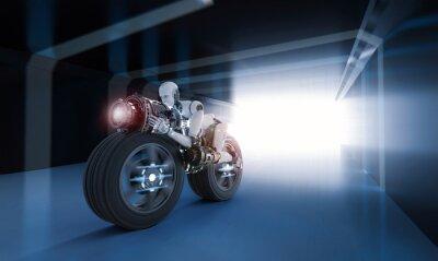 Canvastavlor robot hastighet rörelse