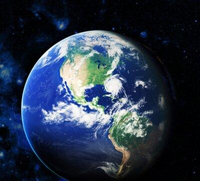 Canvastavlor Rymden. Delar av denna bild som tillhandahålls av NASA