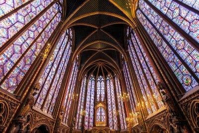 Canvastavlor Sainte Chapelle i Paris