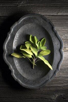Canvastavlor Salvia