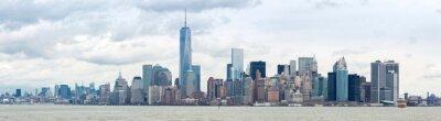 Canvastavlor Sänk Manhatta NYC Panorama