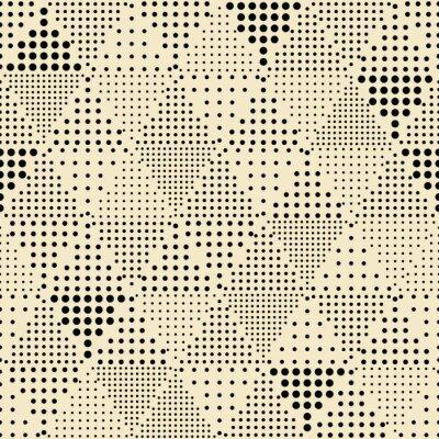 Canvastavlor Seamless abstrakt modern triangel geometriskt mönster