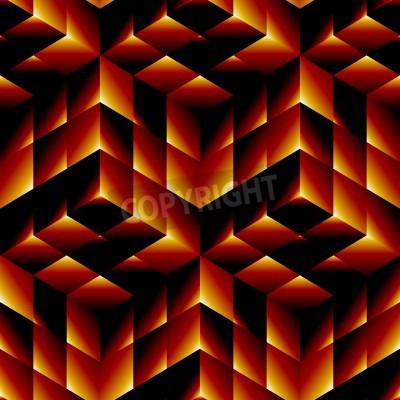 Canvastavlor Seamless geometriskt mönster