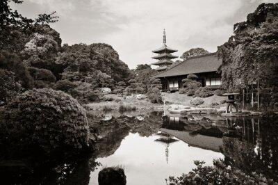 Canvastavlor Sensoji Temple