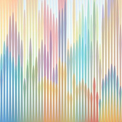 Canvastavlor sfondo strisce colorate