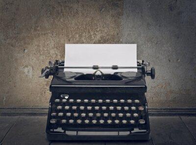 Canvastavlor skrivmaskin