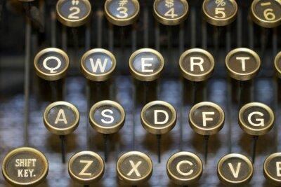 Canvastavlor skrivmaskin / nycklar