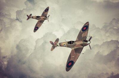 Canvastavlor Slaget vid Britian scen