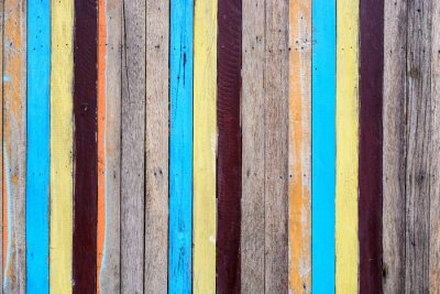 Canvastavlor slat färgrik