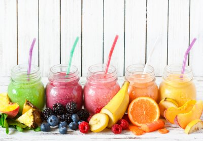 Canvastavlor Smoothies.