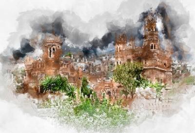 Canvastavlor spanien