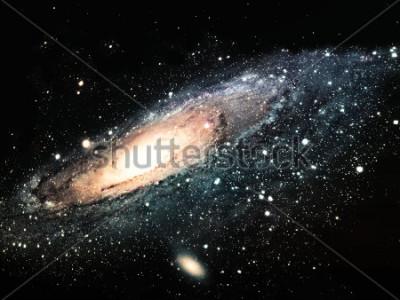 Canvastavlor spiralgalaxen