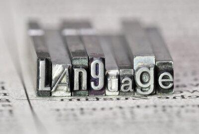 Canvastavlor Språk