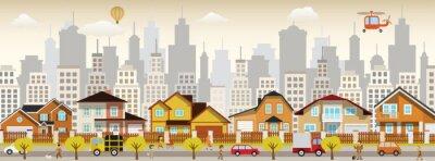 Canvastavlor stadsliv