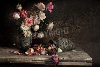 Canvastavlor stilleben fotografering med blomma