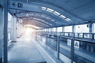 Canvastavlor Subway station in chongqing ,china