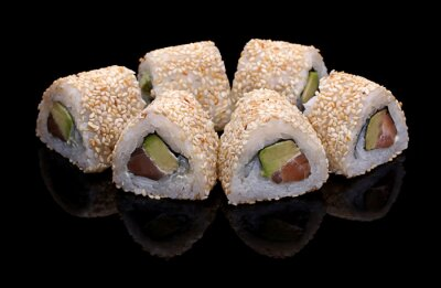 Canvastavlor sushi, rullar