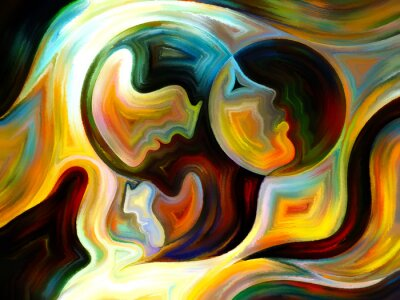 Canvastavlor Synergieffekter från Inner Paint