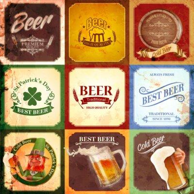 Canvastavlor tappning banner öl