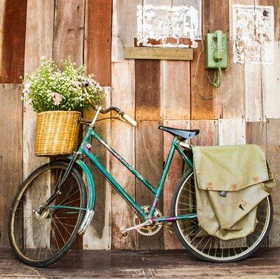 Canvastavlor tappning cykel