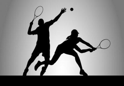 Canvastavlor Tennis - 175