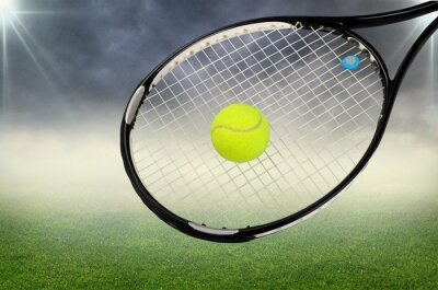 Canvastavlor Tennis.