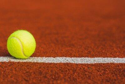 Canvastavlor Tennis, domstol, gräs.