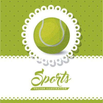 Canvastavlor tennis liga utformning