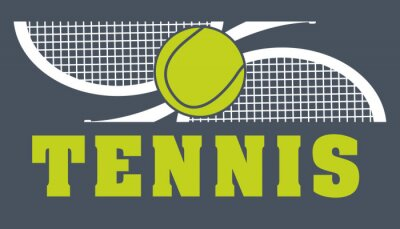 Canvastavlor tennis sport