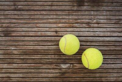 Canvastavlor tennisbollar