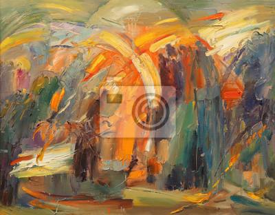 Canvastavlor The Art of abstraktion