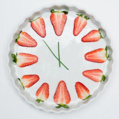 Canvastavlor Tid för jordgubbar