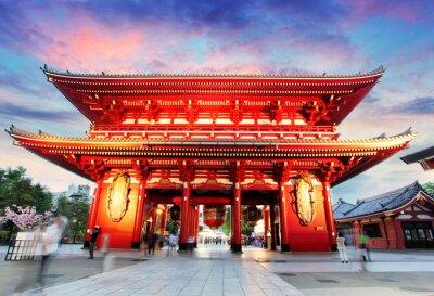 Canvastavlor Tokyo - Japan, Asakusa Temple