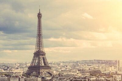Canvastavlor Tour Eiffel i Paris