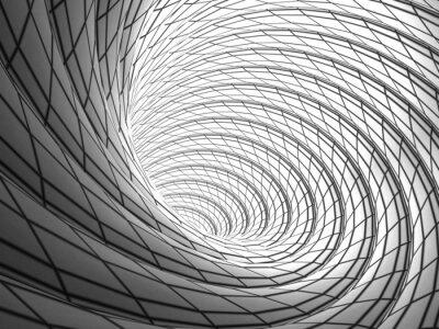 Canvastavlor Trådbunden Vortex Bakgrund
