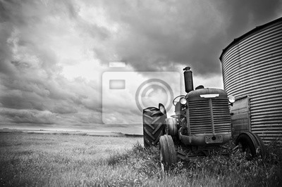 Canvastavlor Traktor