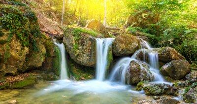 Canvastavlor trevligt vattenfall
