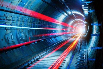 Canvastavlor tunnelbanetunnel