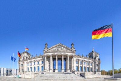 Canvastavlor Tyska riksdagen Berlin
