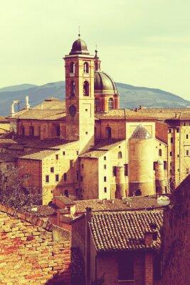 Canvastavlor Urbino tappning