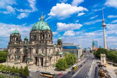 Canvastavlor Utsikt över Berlin Cathedral