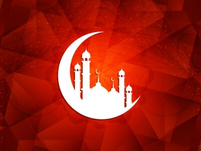 Canvastavlor Vacker islamisk bakgrund.
