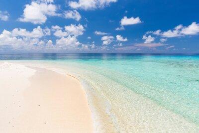 Canvastavlor Vacker Ocean Beach på Maldiverna